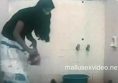 devika removing boxer shorts for a dumb fellow in bathroom.TS