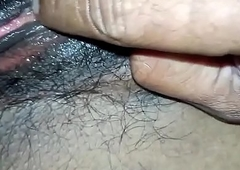 Desi Wife Hairy Fur pie Shacking up Closeup HD PORNMELA.COM