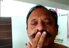 INDIAN Ancient MAN TAKE BATH
