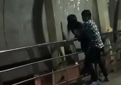 Disgorge sex at bottom mumbai bridge