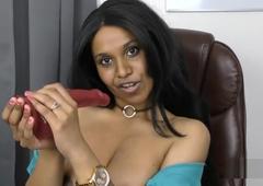 Slutty Indian secretary roleplay pov encircling Tamil