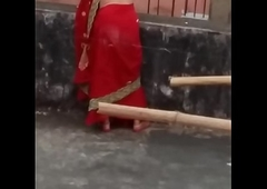 U surely masturbates after watching this indian aunties large in a difficulty pencil ass