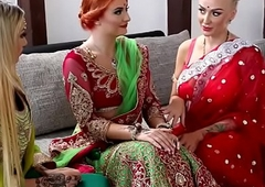Pre-wedding indian bride august (starring kay...