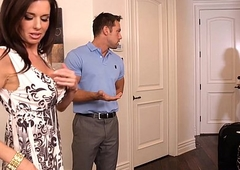 Brunettes india summer and veronica avluv share a substantial shlong